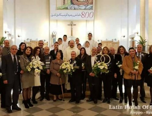 The celebration of the silver, golden jubilee of our families in the parish