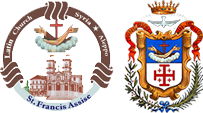 L'église de Saint François d'Assise – Paroisse Latine – Alep Logo
