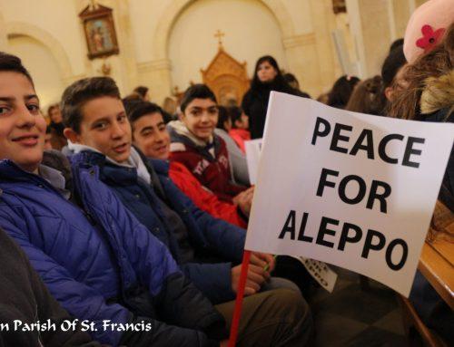 Initiative de prière pour la paix à Alep et dans le monde entier