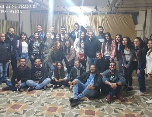 Spotkanie młodzieży parafialnej 26-10-2018
