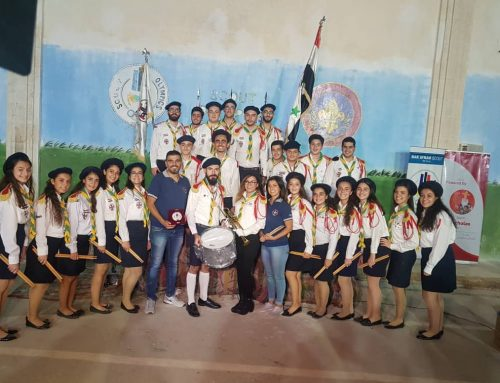 """Our scout's participation in the """"Scout Olympics"""" 2018"""