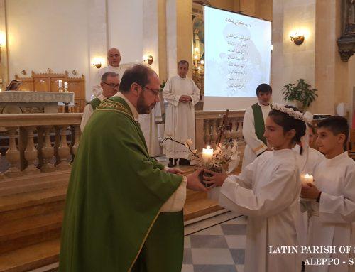 Santa Messa per la Pace nel Centro per il Catechismo domenicale (4 novembre 2018)