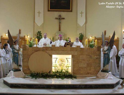 L'Eucharistie solennelle du dimanche de Résurrection