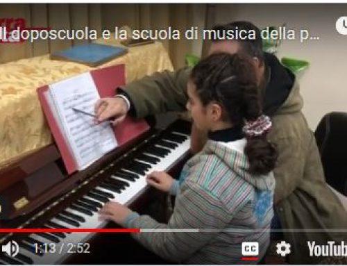 Il doposcuola e la scuola di musica della parrocchia francescana di Aleppo