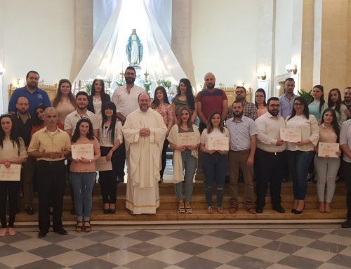 Mass of the sixth Sunday of the Paschal time and the closing of the marriage preparation course
