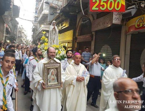 Ave, Ave Maryja… Pokój Tobie z Aleppo …