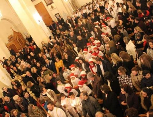 The Christmas Mass Eve in our church