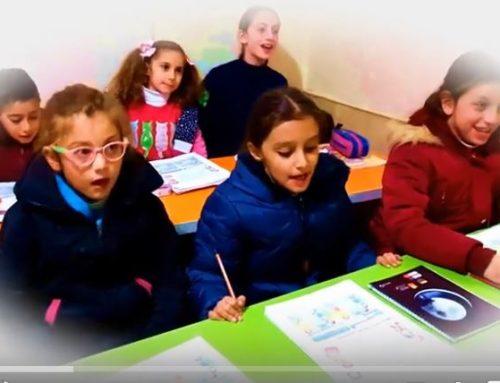 دروس مادة الانكليزي لطلابنا في دير اللاتين بحلب