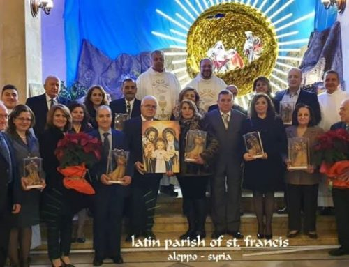 The Holy Mass of the Holy family feast and The goldenand silver jubilee celebration