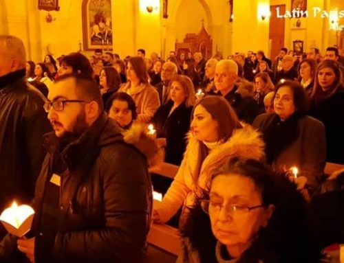 Our church celebrated the feast of Jesus offered to the temple (2nd February 2020)