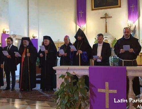 الصلاة المسكونية من أجل السلام في سوريا في كنيستنا