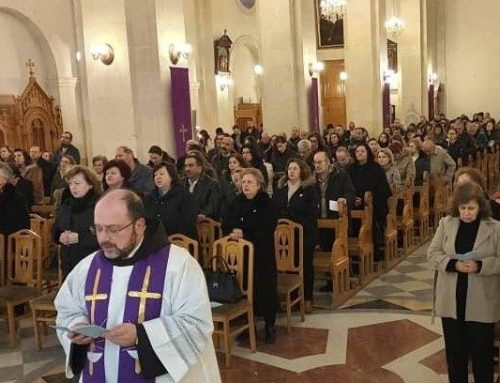 Syrian Christians pray for Italy. Father Sabbagh: We exchange your love and support.