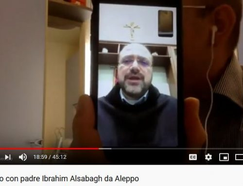 The interview of Father Ibrahim Alsabagh, Parish priest of Aleppo Latin church, on the development in the living conditions caused by Corona Virus