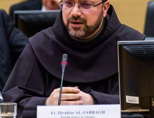 """padre Ibrahim Alsabagh in collegamento da Aleppo """"il Covid-19 incombe ma qui la gente adesso muore di fame"""""""