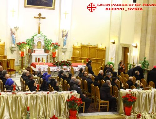 A meeting of bishops, priests and nuns in Aleppo, on the occasion of Christmas (28 / 12 / 2020)