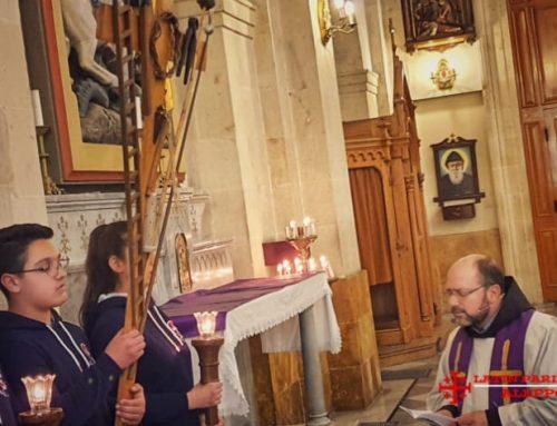 Chemin de Croix. Sixième semaine de Carême