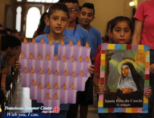 Msza św. dla dzieci w czasie wakacyjnego Oratorium