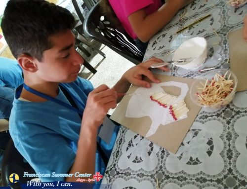 """The internal stations of the fifth week in our summer club """"With you… I can"""""""
