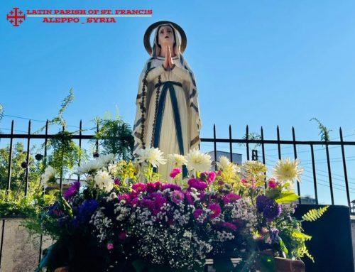 قداس احتفالي في صلنفة، في كنيسة العذراء المنتقلة إلى السماء …